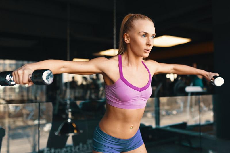 cómo empezar en el gimnasio mancuernas