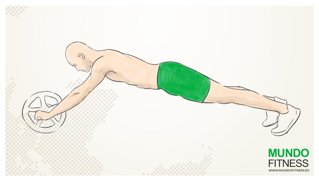 Desventajas de hacer abdominales con roller