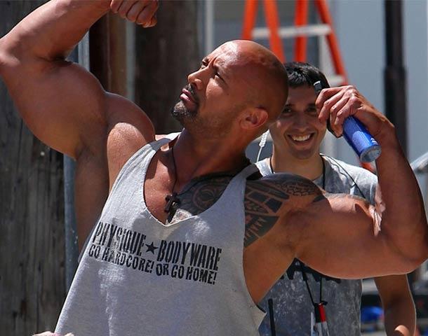 Dwayne Johnson considerado Obeso