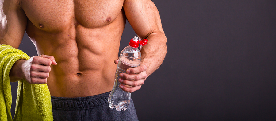mejora los músculos el agua