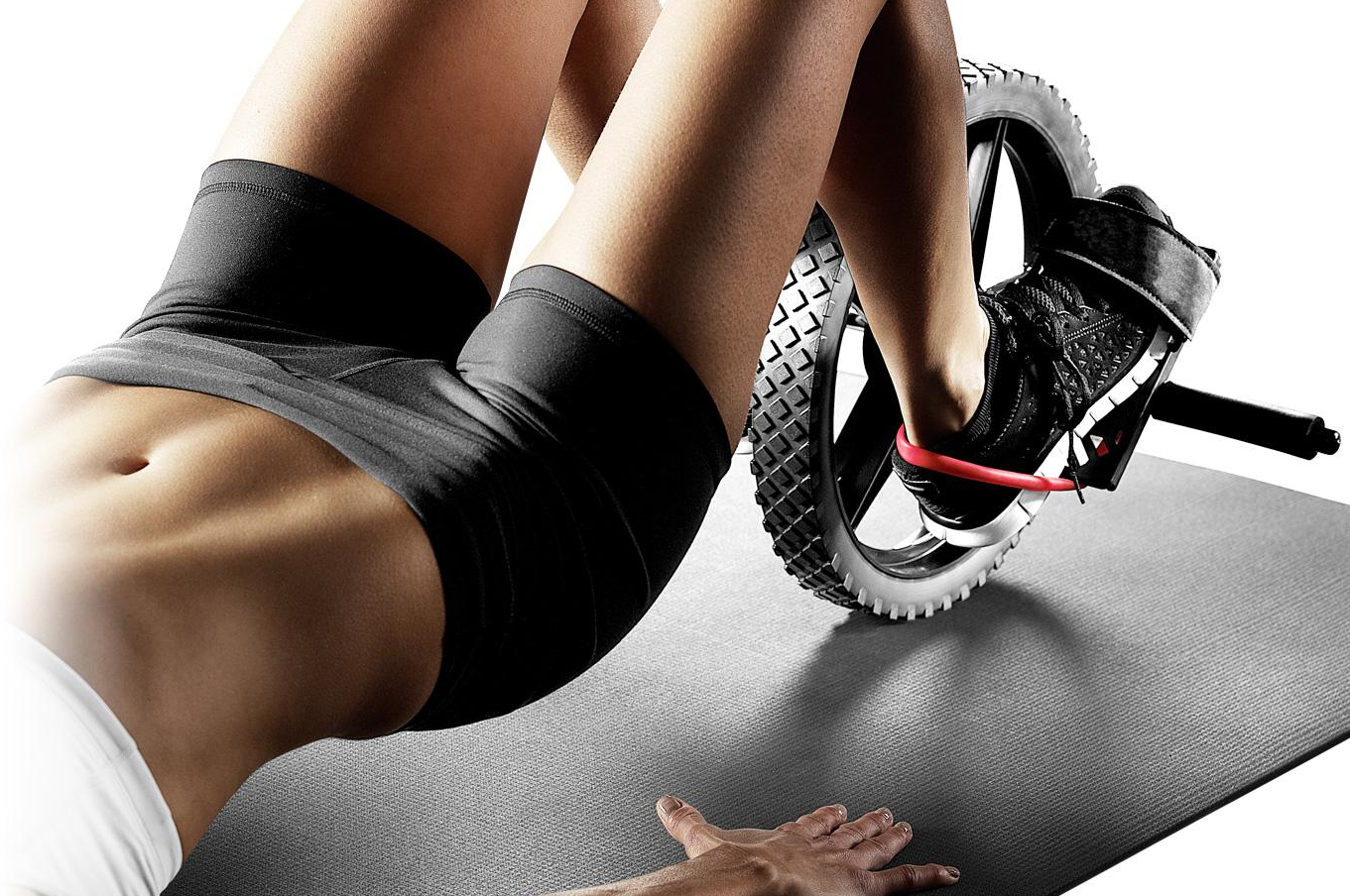 abdominales power wheel