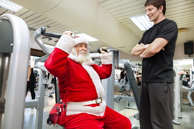 entrenamiento de fuerza en navidad