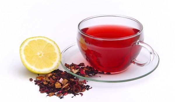té rojo
