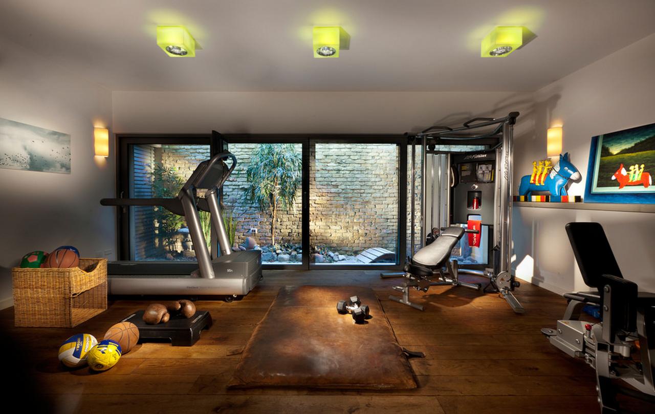 Gimnasio en casa c mo montar un gimnasio en casa - Casa con gimnasio ...