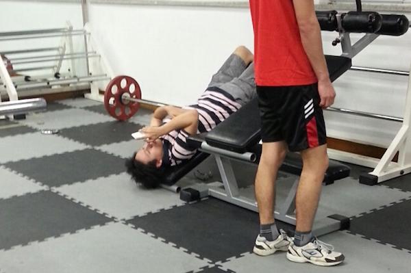 uso movil gimnasio