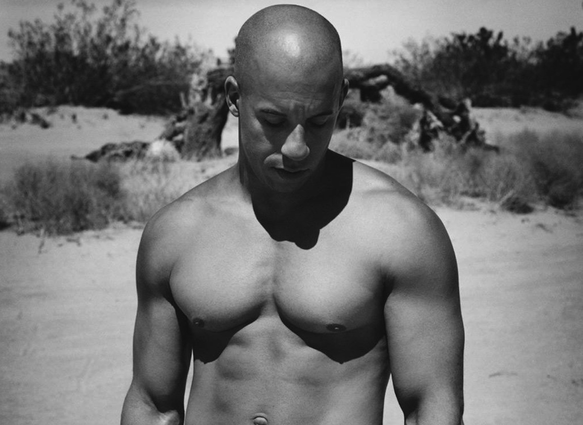 Hombros de Vin Diesel